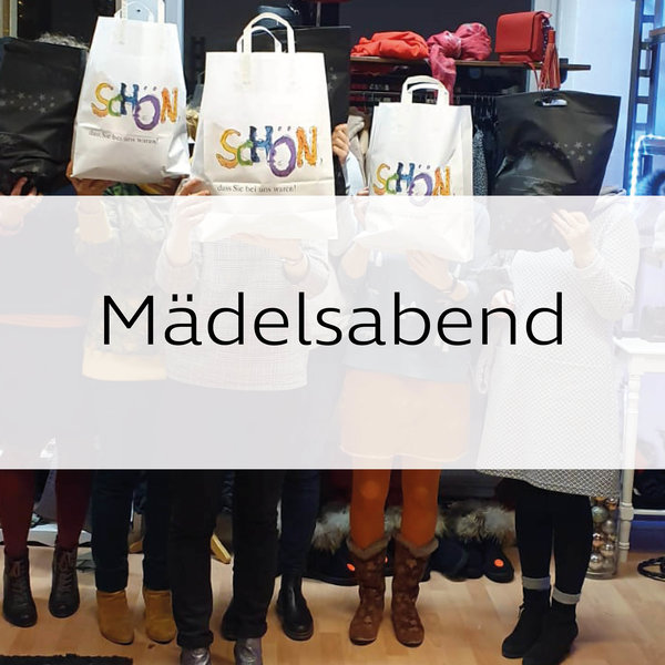 Maedelsabend im moamo - mode and more in Giessen
